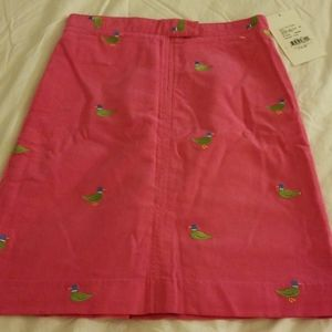 NWT Lilly Pulitzer Carla Girls cords skirt